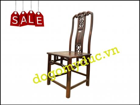 Ghế Minh gỗ Mun