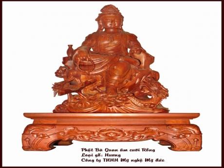 Phật bà Quan Âm cưỡi Rồng